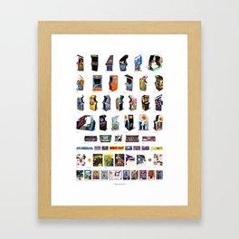 Arcade Art Framed Art Print