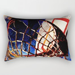 Basketball vs 64 Rectangular Pillow