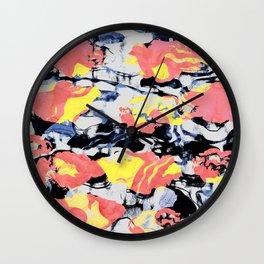paint pond Wall Clock