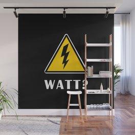 Electrician Watt Wall Mural