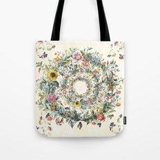 Circle of Life Cream Tote Bag