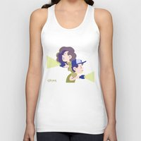 gravity falls Tank Tops featuring Gravity Falls by Aysen Gerlach