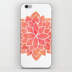 Salmon Mandala iPhone & iPod Skin