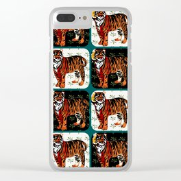 Tigers Clear iPhone Case