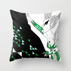 Capricorn / 12 Signs of the Zodiac Throw Pillow