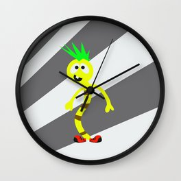 Little Monster 3 Wall Clock