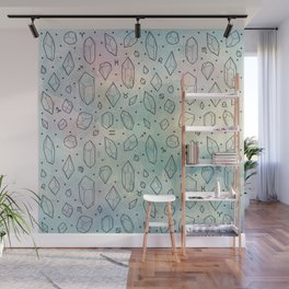 Crystals & Constellations Wall Mural