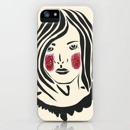 Paper Cut - Woman No. 3 iPhone Case