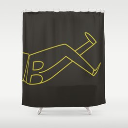 November Shower Curtain
