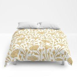 Golden chrysanthemums Comforters