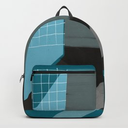 Blue Architecture 5 Backpack
