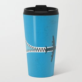 Unzip the sky Travel Mug
