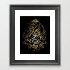 Sky Trumpets Framed Art Print