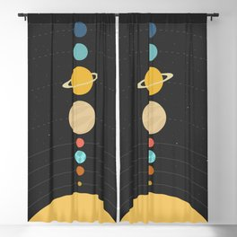 Solar System Blackout Curtain