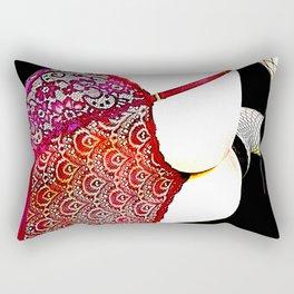 Beautiful Behind Rectangular Pillow