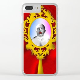 'Mirror mirror' Clear iPhone Case