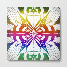 Player Sig.ma — White lotus Metal Print