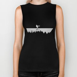 Go To The Mountains Biker Tank