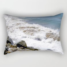 The Rocky Shores of San Pedro Rectangular Pillow