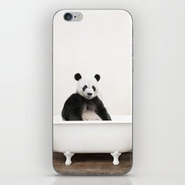 Panda in a Vintage Bathtub (c) iPhone Skin