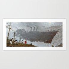 1920 - wind gambit Art Print