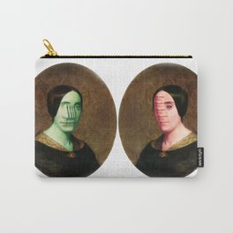 The Vitruvian Sisters (collage) Carry-All Pouch
