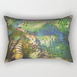 Depth of Color Rectangular Pillow