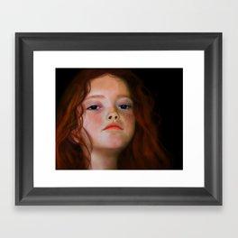 Amost frustrated Framed Art Print