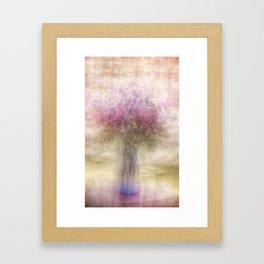 The bouquet Framed Art Print