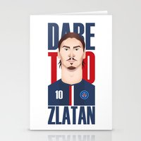 zlatan Stationery Cards featuring Z.I by Micka Design