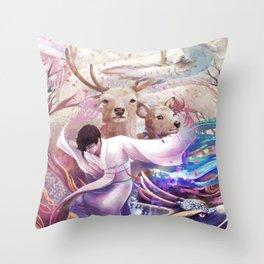 shi Throw Pillow