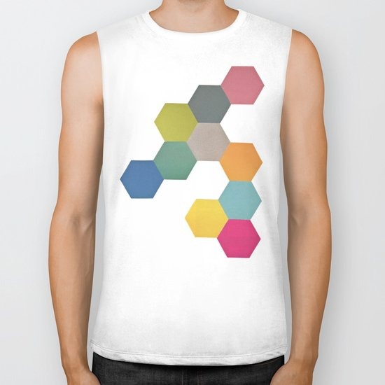 Honeycomb I Biker Tank