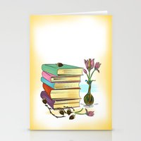 books Stationery Cards featuring Books by famenxt