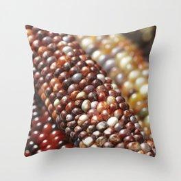Indian Corn -Autumn Fall Decor Throw Pillow