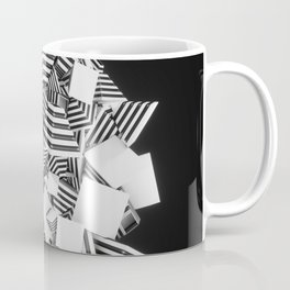 Abstract Pyramid 3D Illustration Coffee Mug