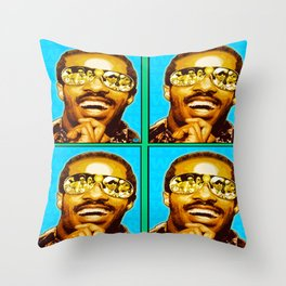 """STEVIE WONDER: iWONDER"" Throw Pillow"