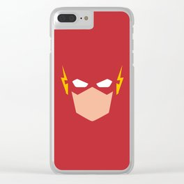 Flash Superhero Clear iPhone Case