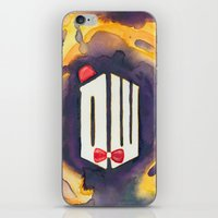 doctor who iPhone & iPod Skins featuring Doctor Who by foreverwars