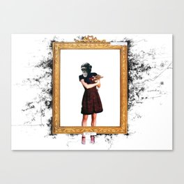 Arty Shit Canvas Print