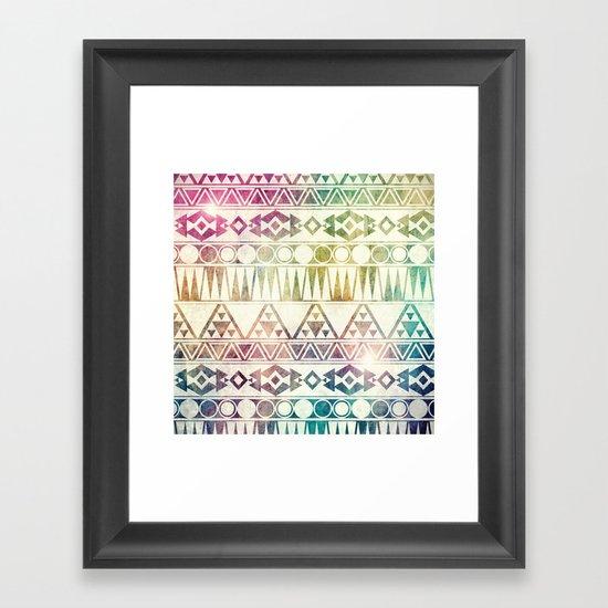 Tribal Horizons Framed Art Print