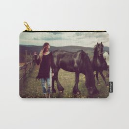 Friesian Morning Carry-All Pouch