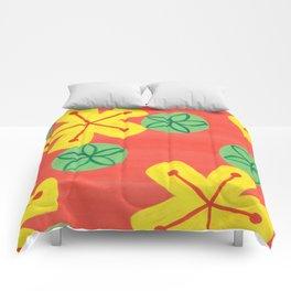 Retro Bright Floral Comforters