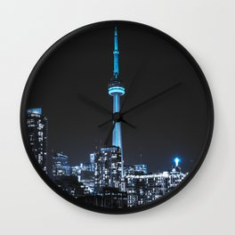 Iced Out Toronto Wall Clock