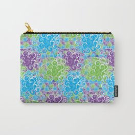 Just Swirls Carry-All Pouch