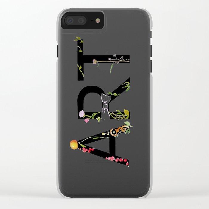 ART Clear iPhone Case