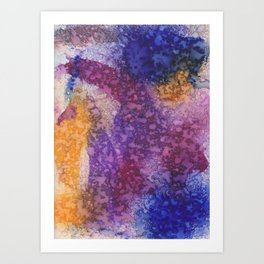 Purple Rain Prince Tribute Art Print