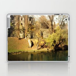 The autumn in the fort Laptop & iPad Skin