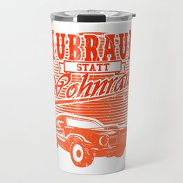 HUBRAUM / WOHNRAUM Muscle Car Gift For Car Lover Travel Mug