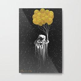 WEIGHTLESS Metal Print