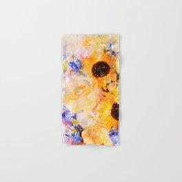 Yellow Vintage Rose Hand & Bath Towel